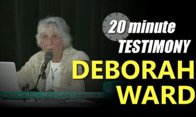 VIDEO: Deborah Ward – TMT Contested Case Testimony