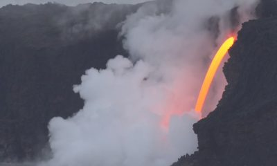 As Lava Fire Hose Continues, Boat Tours Cited