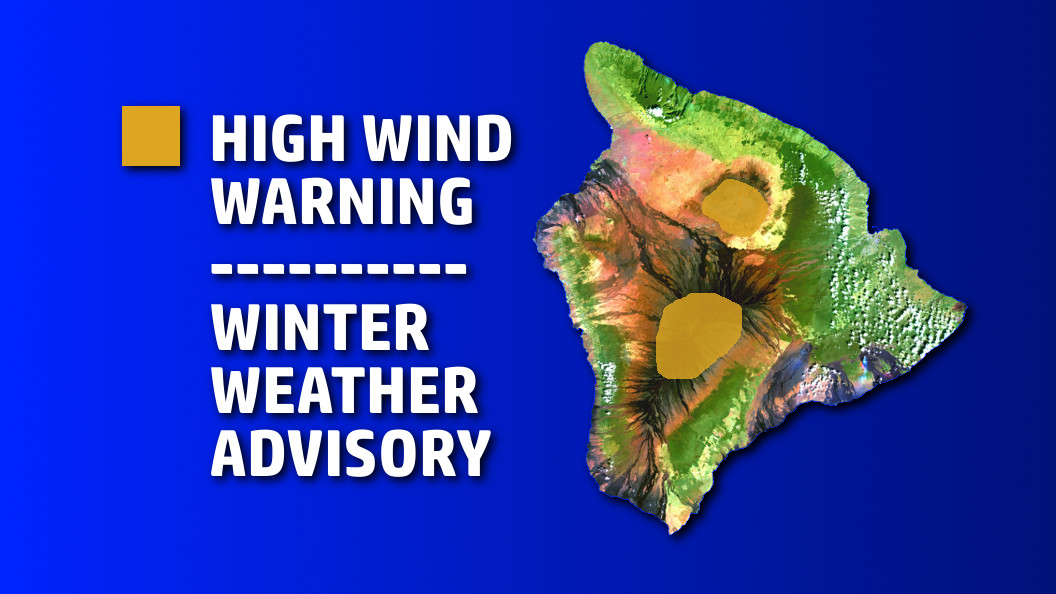 High Winds, Winter Weather For Summits As Cold Front Nears