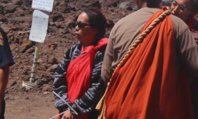 VIDEO: Leina'ala Sleightholm Recalls Stand For Mauna Kea, Arrests