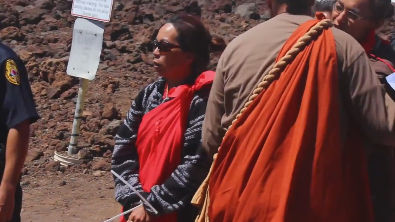 VIDEO: Leina'ala Sleightholm Recalls Stand For Mauna Kea, Arrests