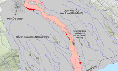 New Lava Flow Map Charts Multiple Breakouts