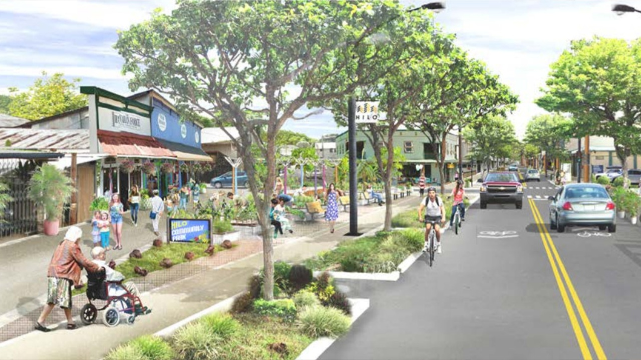 VIDEO: Future Downtown Hilo Plans Rendered