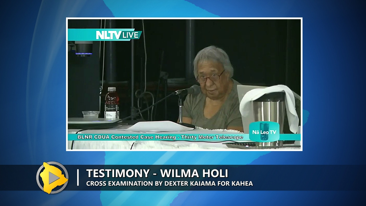 VIDEO: TMT Case – Wilma Holi Called As Witness By Hearing Officer