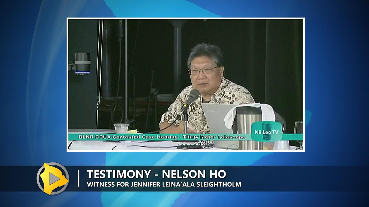 VIDEO: TMT Case – Full Testimony Of Nelson Ho