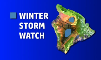 Winter Storm Watch In Store For Hawaii Summits