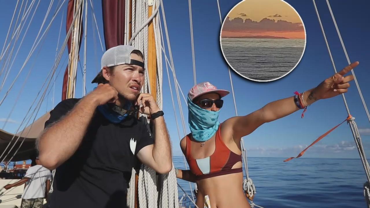 VIDEO: Emotional Moment As Hokulea Finds Rapa Nui