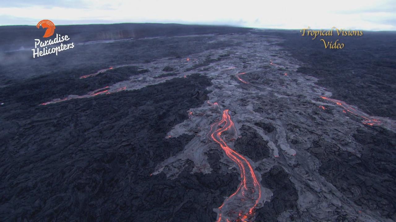 VIDEO: New Lava Breakouts Recorded Above Pulama Pali