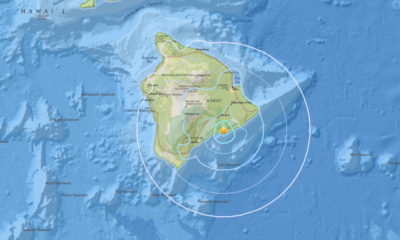 4.3 Earthquake Hits Hawaii Island, Civil Defense Issues Message
