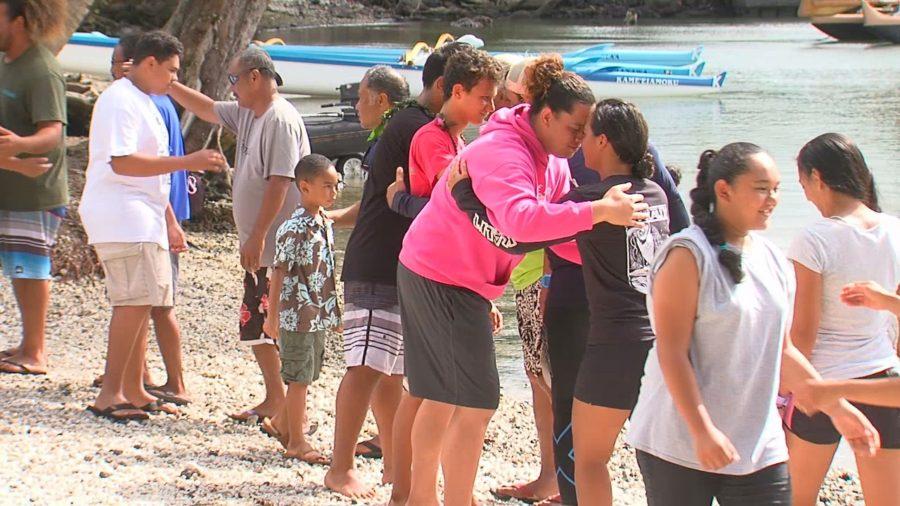 VIDEO: Departing Hilo, Hikianalia To Meet Hokule'a In Tahiti