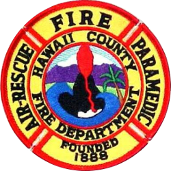 Structure Fire At Kohanaiki Industrial Area
