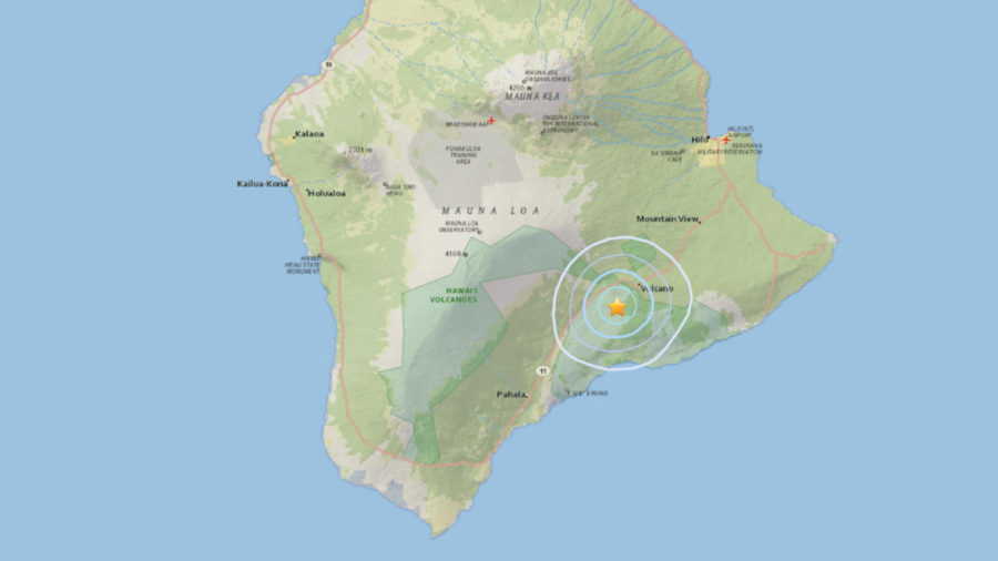 3.6 Earthquake Reported Near Hawaii Volcano Summit