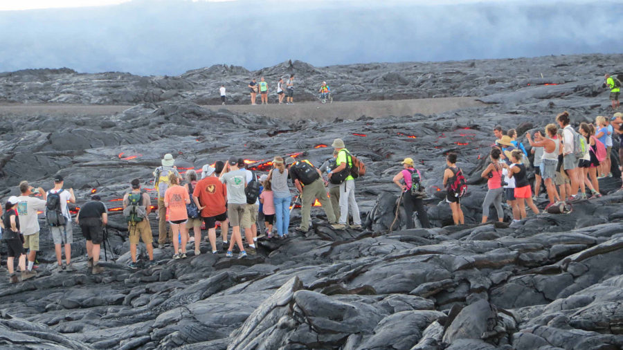 "VOLCANO WATCH: Tips For ""Lava Field Fashion"""