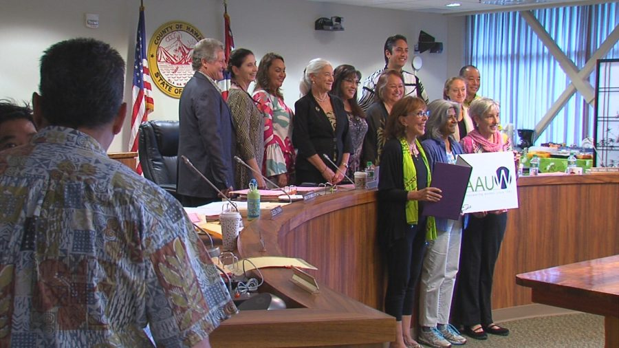 VIDEO: Hawaii County Marks Equal Pay Day