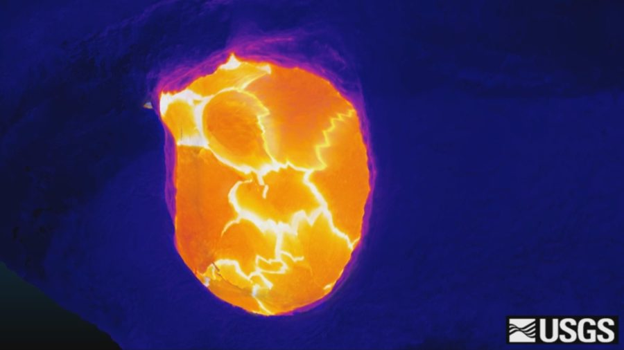 VIDEO: 3-D Model Of Volcano Lava Lake