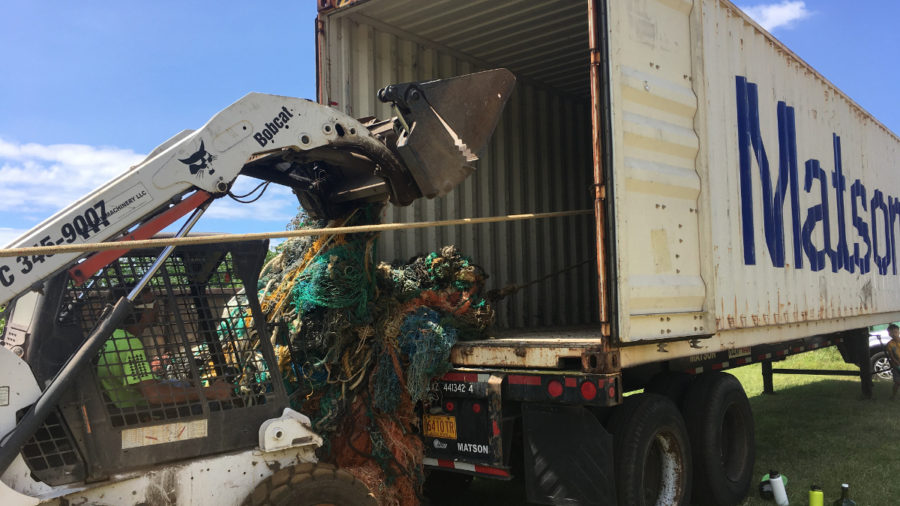 Another 15,000 Lbs. Cleared From Hawaii Island Shores