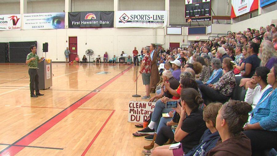 VIDEO: Sen. Brian Schatz Holds Town Hall At UH-Hilo
