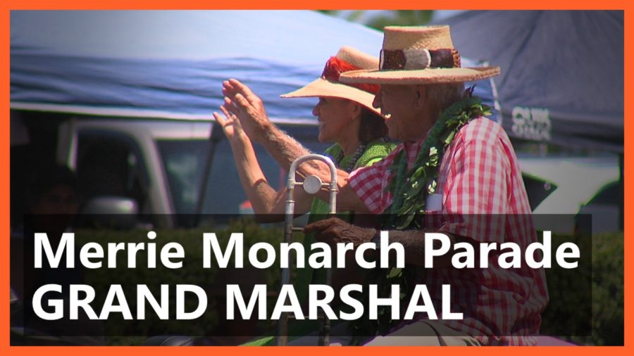 VIDEO: Merrie Monarch Parade Grand Marshal, Wendell Leite