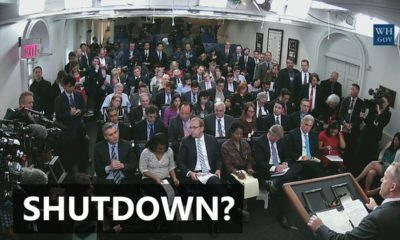 VIDEO: White House Answers Questions On Possible Shutdown