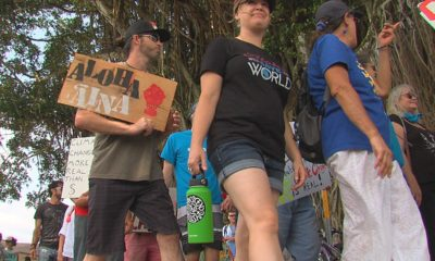 VIDEO: Climate Marches Held On Hawaii Island
