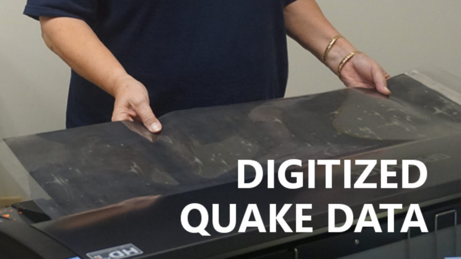 VOLCANO WATCH: Paper Quake Records Digitized