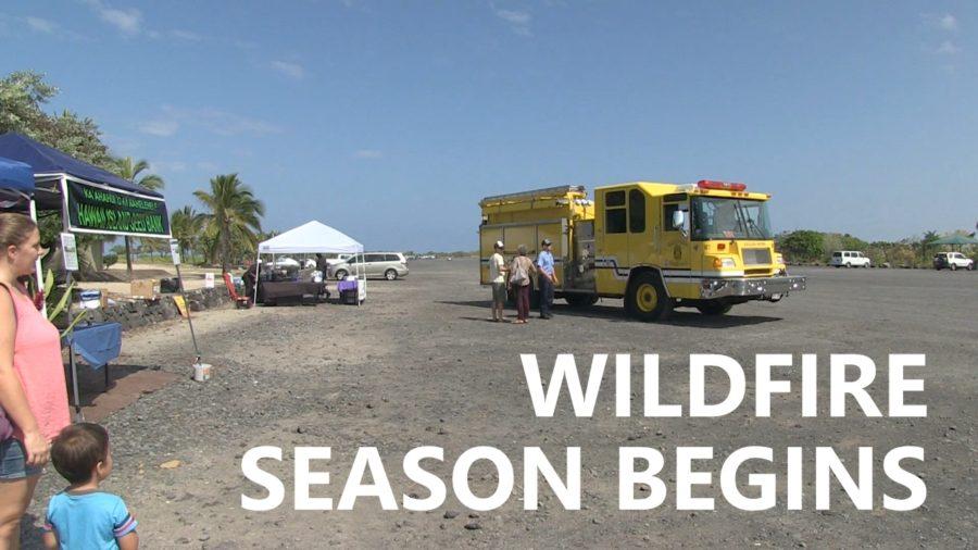 VIDEO: Kona Marks Start Of Hawaii Wildfire Season