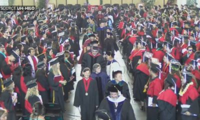 VIDEO: UH-Hilo Holds Spring Commencement