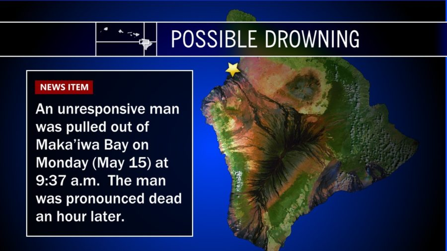 Possible Drowning At Maka'iwa Bay On Kohala Coast