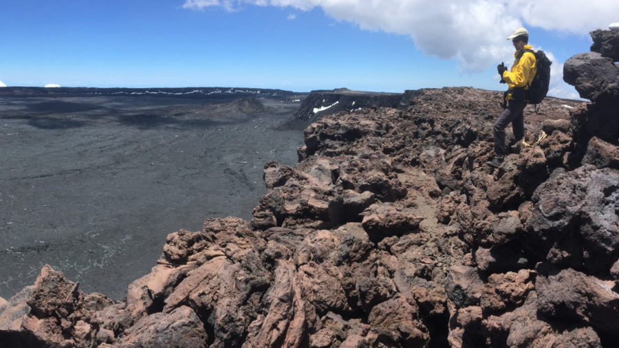 Geologists Hike To Mauna Loa Summit To Fix Webcams