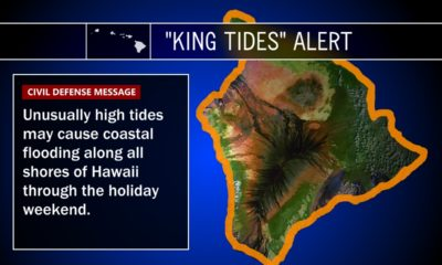 "Big Island Braces For ""King Tides"" Flooding"