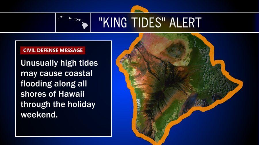 "Big Island Braces For ""King Tides"" Flooding"
