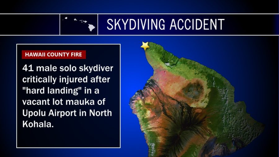 Skydiving Accident Reported At Upolu Airport