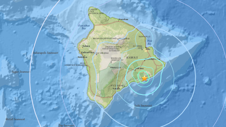 5.1 Magnitude Earthquake Rattles Hawaii Island