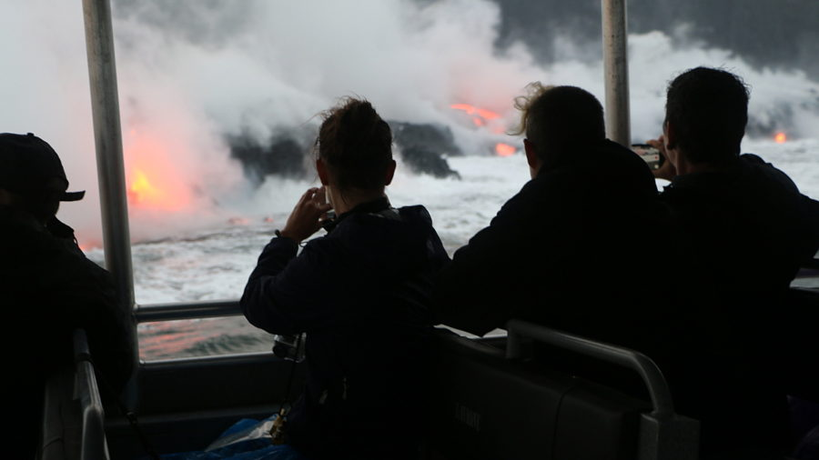 Lava Tour Boat Fined By State BLNR