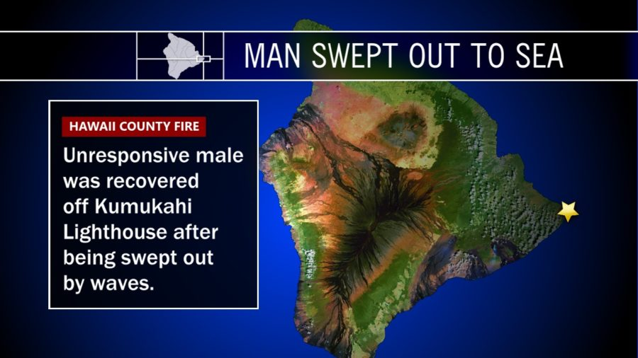 Man Swept Out To Sea Off Cape Kumukahi Lighthouse