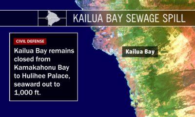 Kailua Bay Sewage Spill – Wednesday Update