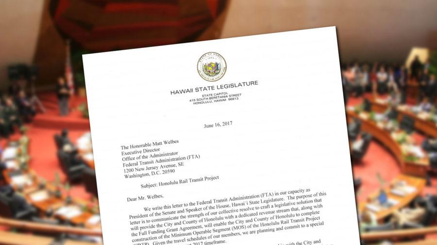 Hawaii Legislators Plan Special Session For Rail