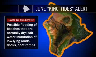 King Tide Again Threatens Hawaii, Civil Defense Issues Alert