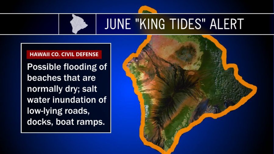 King Tide Again Threatens Hawaii, Civil Defense Issues Alert