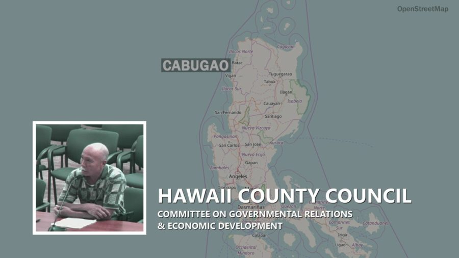 VIDEO: Hawaii County Establishing Sister City With Cabugao