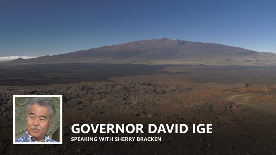 VIDEO: Governor Ige On Mayor Kim's Mauna Kea Vision