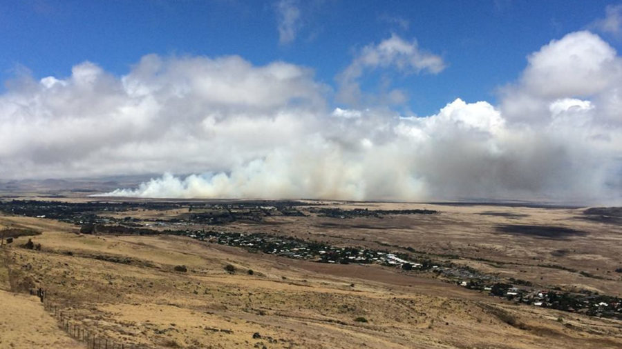 Waimea Brushfire Update – 8 p.m. Friday Evening