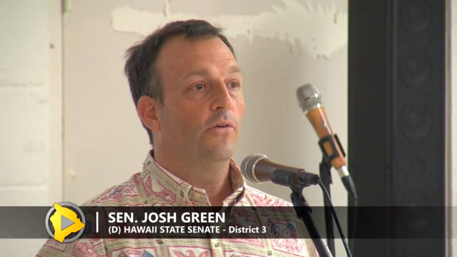VIDEO: Senator Green Talks About Plans For Higher Office