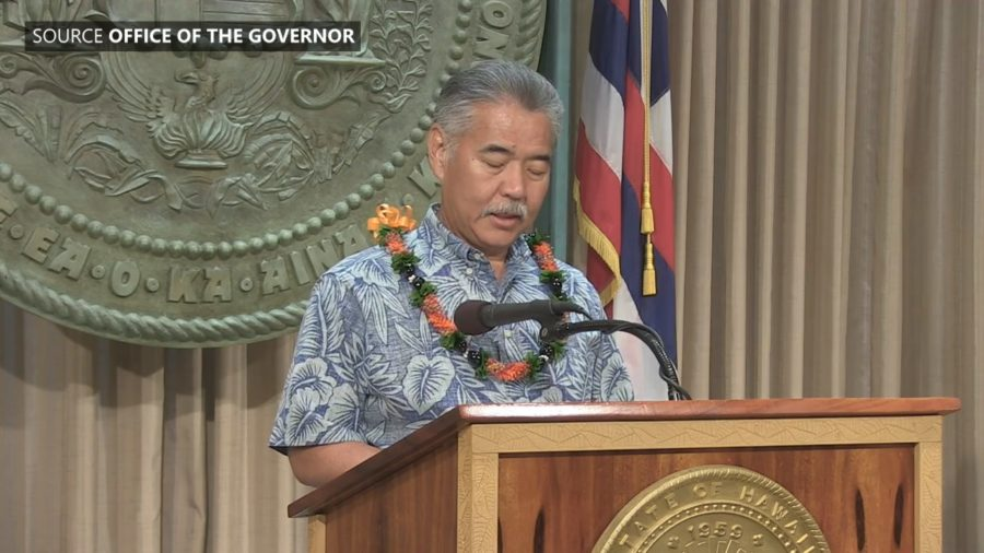 VIDEO: Gov Ige Vetoes Aquatic Life Bill
