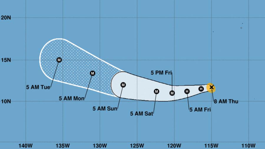 Fernanda Forecast To Become Major Hurricane
