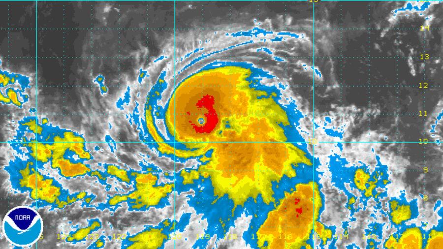 Fernanda Becomes A Major Hurricane