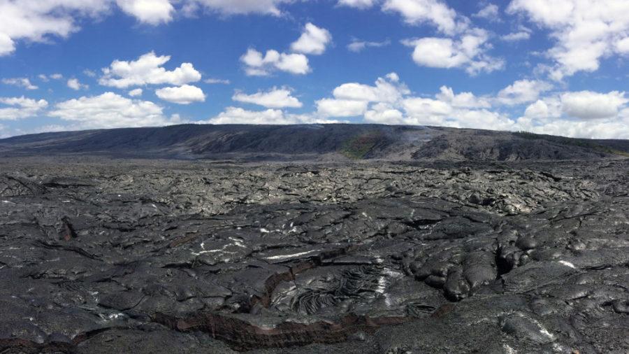 Coastal Plain Lava Breakout Stalls, Small Delta Collapses