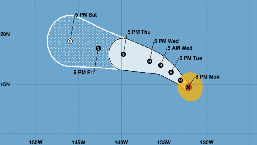 Hurricane Fernanda Expected To Weaken Before Nearing Hawaii