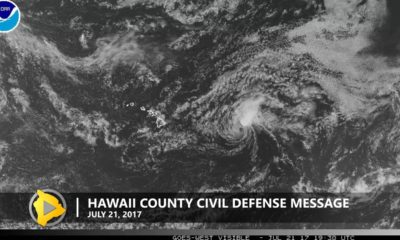 Fernanda Continues To Weaken As It Nears Hawaii