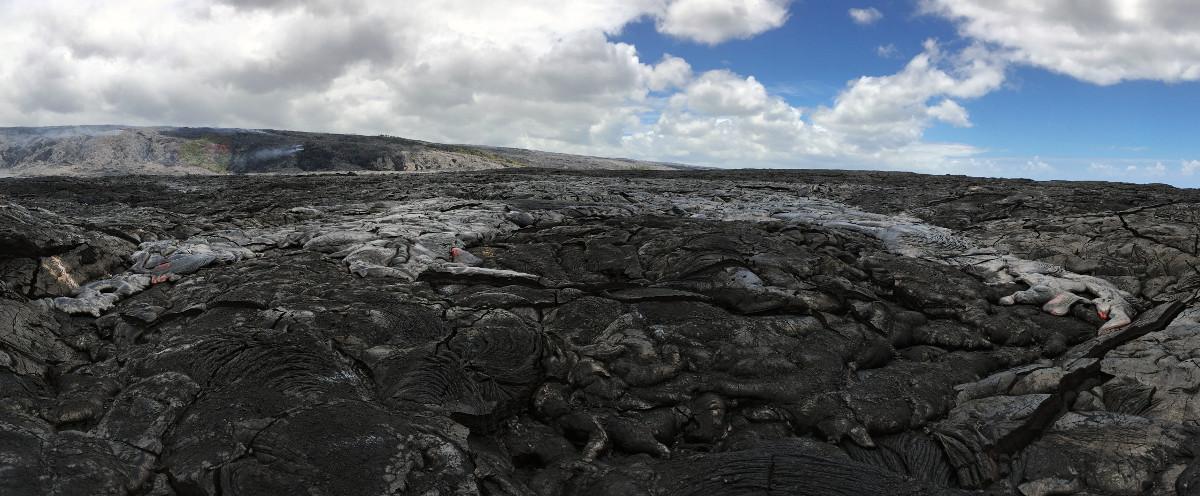 Big Island Lava Activity In July